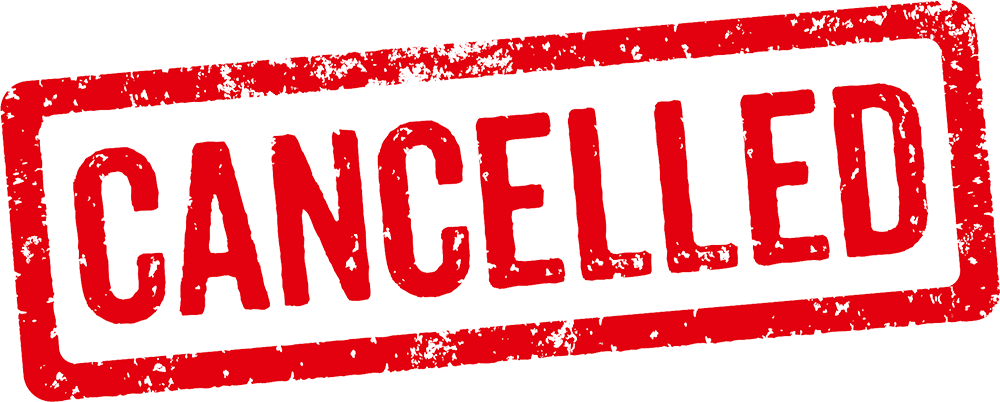 Gaa Cancelled Event