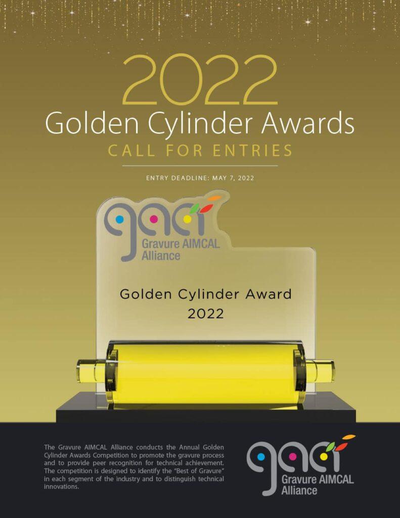 golden cylinder awards 2022 form cover