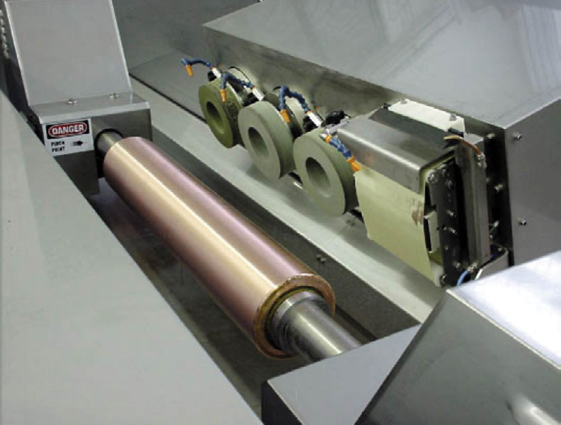 Polishing Copper Plated Cylinders